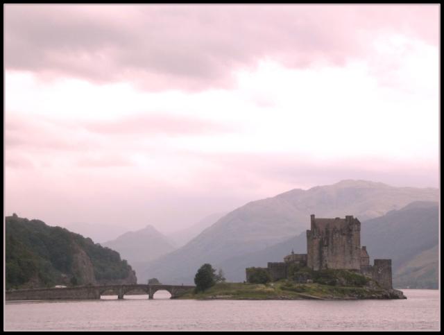 Eilean Donnain Castle, Scotland