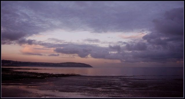 And you cannot have a pictures of a bay without a picture of the bay itself- this one is in hte direction of Onchan Head.