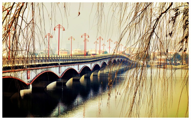 A view of Jiangning Bridge